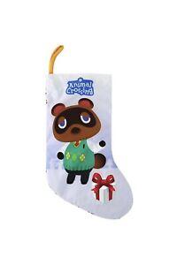 "Sunrise Identity Nintendo Animal Crossing Tom Nook 18"" Holiday Stocking"