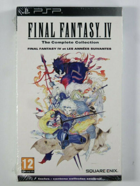 FINAL FANTASY IV THE COMPLETE COLLECTION PSP FR NEW/ NEUF/