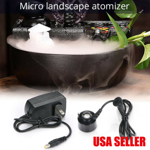 Ultrasonic Mist Maker Fogger Water Fountain Pond Atomizer Air Humidifier
