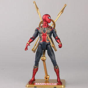 Marvel Spiderman Avengers Infinity War Iron Spider-Man Action Model Figure Toys