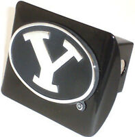 Byu Black Metal Hitch Receiver Cover