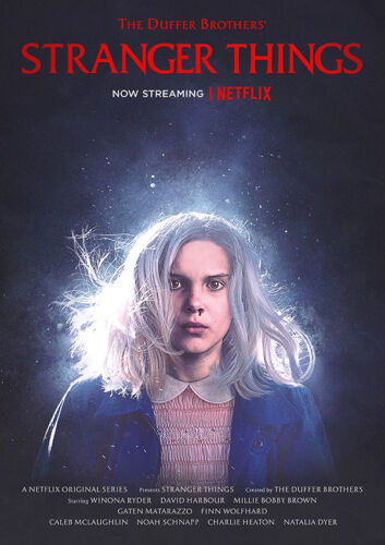 STRANGER THINGS Series Posters Prints Best TV Show Wall Art A4 A3 A2