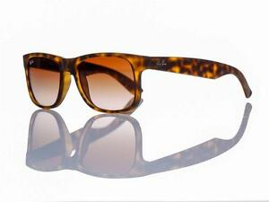 312a9aea02 Image is loading New-Authentic-Ray-Ban-Justin-Sunglasses-Small-51mm-