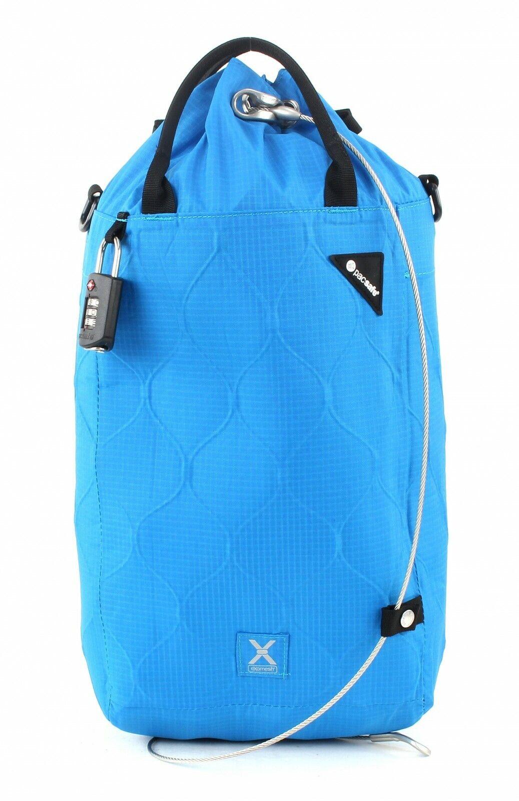 Pacsafe Borsa Da Viaggio voyagesafe X15 Anti-Theft portable Safe bleu