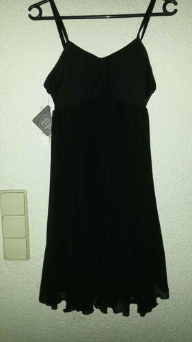 L schwarz Ballettkleidt Tanzanzug Body mit Rock Sheddo Mod LZ419AW Gr