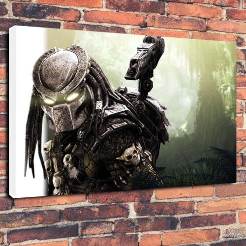 "Alien Vs Predator Sci-Fi Film Printed Box Canvas Picture A130/""x20/""x30mm Deep"