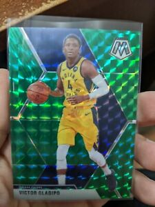 2019-20-Mosaic-Victor-Oladipo-2x-Card-Lot-Green-Prizm-Indiana-Pacers