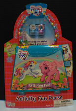 My Little Pony G3 2004 Activity Fun Purse Stamps Note Pad