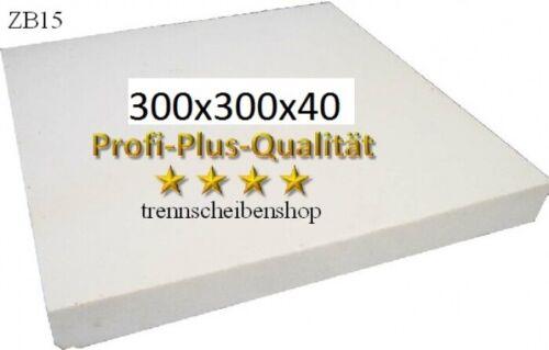Schärfplatte 300 x 300 x 40 mm schärft Diamanttrennscheiben Bohrkronen usw EAN