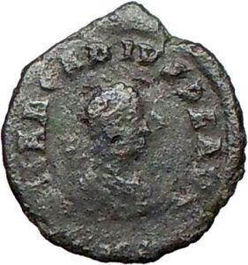 ARCADIUS-383AD-Ancient-Genuine-Roman-Coin-Wreath-i25726
