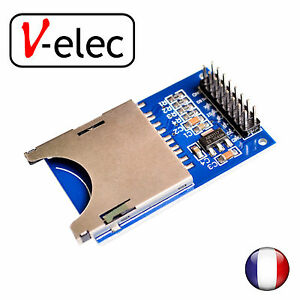 1060-Reading-and-writing-module-for-arduino-SD-Card-Module-Slot-Socket-Reader