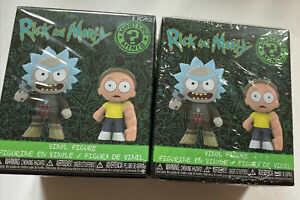 Funko-Mystery-Mini-Rick-and-Morty-Series-2-Lot-of-Two-New-GameStop-Exclusive