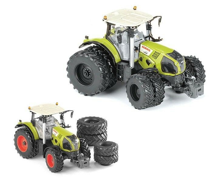Claas Axion 870 with double wheels tractor 1 32 MODEL ros30158 ROS