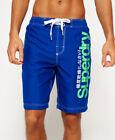 New Mens Superdry Superdry Boardshorts Voltage Blue