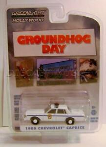 1980 Chevrolet Caprice Groundhog Day police Pursuit ** Greenlight Hollywood 1:64
