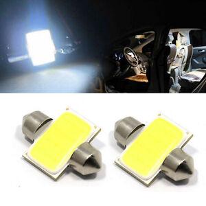 2pcs-31mm-12-SMD-COB-LED-T10-6W-White-Light-Car-Interior-Light-Dome-Lamp-Bulb-GB