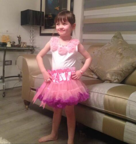 New  dancing  party Tutu Fancy dresses for girls 2-8Yrs--M