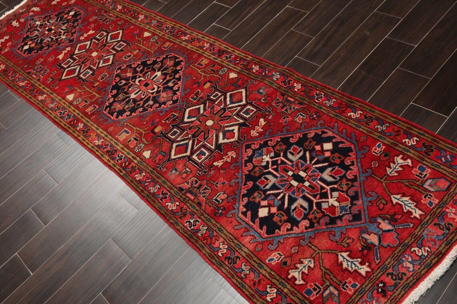 Pakistan Wool Oriental Kazak Geometric 3x10 Hand Knotted Persian Runner Rug For Sale Online Ebay