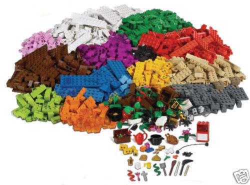 Lego 4 + Istruzione 9385 Costruzioni Nuovo Base 1207 Costruzioni Formazione