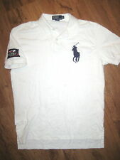 Ralph Lauren Polo US OPEN Big Pony shirt (Medium) White Tennis