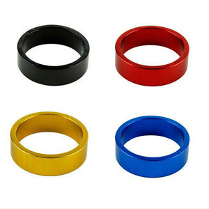 10-mm-Aluminum-Mountain-Road-Bike-Cycling-Headset-Stem-Spacer-4-Colors-FF