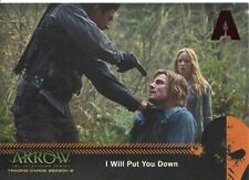 Arrow Season 2 Red Foil Parallel Mirakuru Chase Card U2 I Will Put You Down