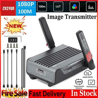 Camera Must Be in The Weebill S Support List ZHIYUN TransMount Image Transmission Transmitter 1080P HD Image Transmission for WEEBILL S Stablizer