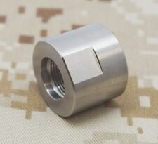 """HUGHES .74/"""" OD X 3//4/"""" X-Long Stainless Steel Thread Protector for 1//2/""""-28tpi,"""