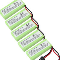 5x 2.4v 800mah Cordless Phone Battery For Uniden Dect2085-4wx, Dect 20854wx