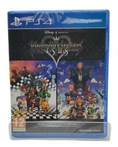 🔥Kingdom Hearts 1.5 HD and 2.5 Remix PS4 Brand New Factory Sealed PlayStation 4