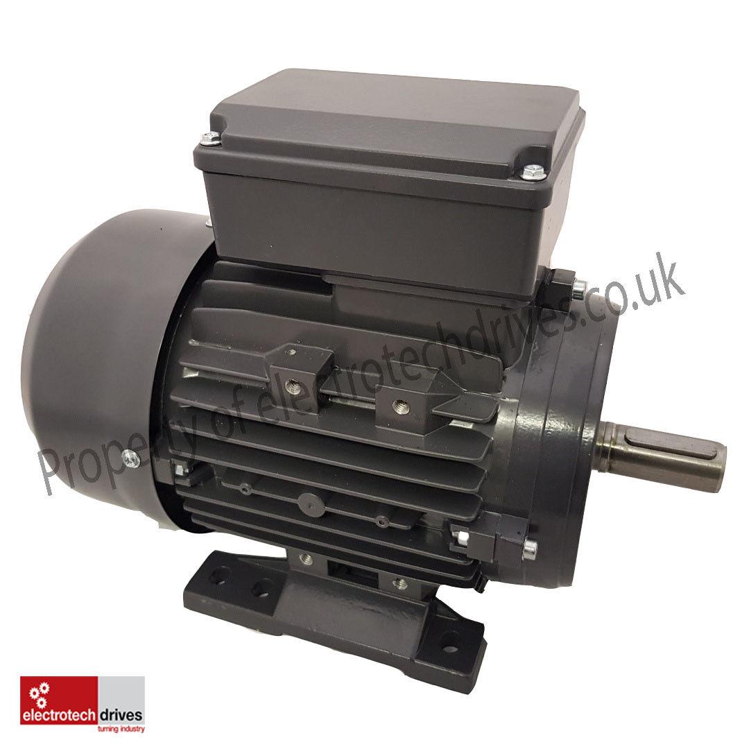 240 Volt  Electric Motor 0.12kw 0.16hp 900rpm 6 pole 240V Single Phase