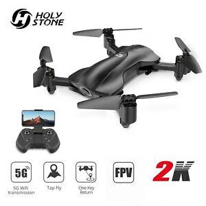 Holy Stone HS165 RC FPV GPS Drohne mit 2K Kamera HD Faltbar Quadcopter Drone