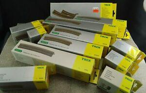 Trix-Weiche-C-Gleis-6x-62130-62-107-115-001-206-207-215-224-330-672-1-87-H0-Neu