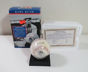 All-Star-Heroes-Babe-Ruth-Limited-Edition-Baseball-Collector-Signature-Set-1996