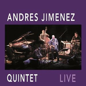 CD LIVE Andres Jimenez Quintet Digipack (K164) - Frankfurt, Deutschland - CD LIVE Andres Jimenez Quintet Digipack (K164) - Frankfurt, Deutschland