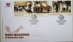 Malaysia FDC with Stamps (16.09.2020) - Malaysia Day 2020