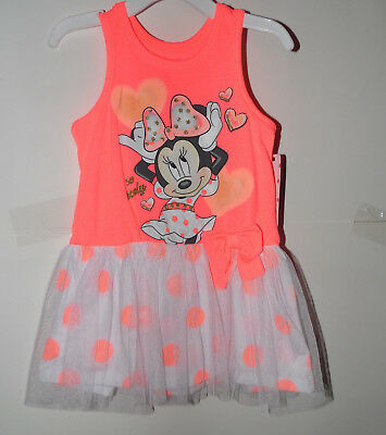Disney Minnie Mouse Girls Dress Sizes  2T NWT