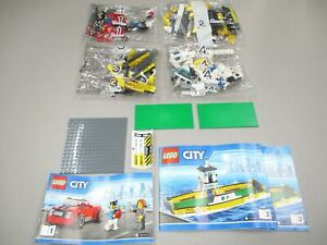LEGO-City-Great-Vehicles-Ferry-Set-60119-New-Sealed-NO-BOX