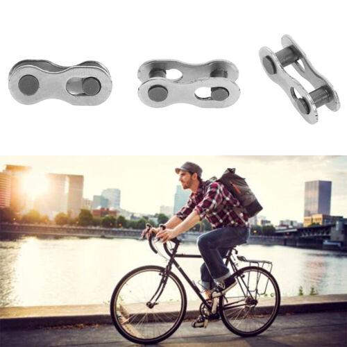 2pcs 8//9//10 Fach Fahrradkettenschloss Kettenverschlussglied Kettenverschluss NEU