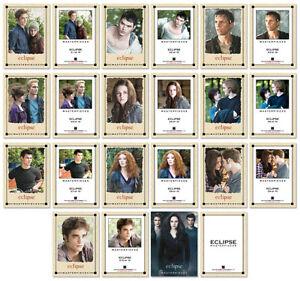 Twilight-ECLIPSE-11-Card-Masterpieces-Canvas-Print-Set