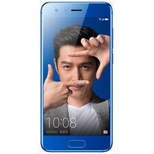 "New Huawei Honor 9 128GB - Blue- Octa Core Dual SIM 4G LTE 5.15"" IPS Nougat OS"