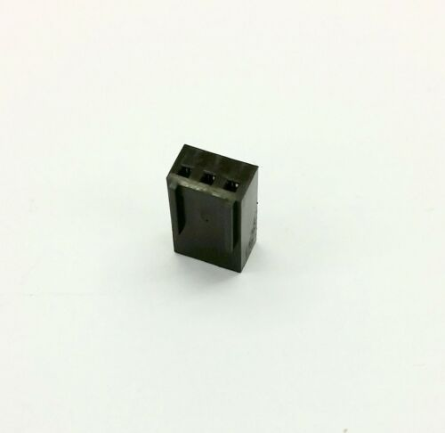 BLACK INC PINS PK OF 5 FEMALE 3 PIN FAN POWER CONNECTOR