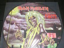 IRON MAIDEN  Killers   vinyl LP unplayed  PICTURE DISC