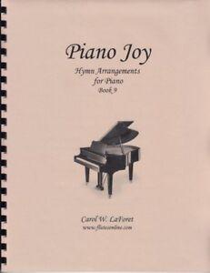 Church Hymn Arrangements for Piano JOY Pieces Solo Offertory Worship #9