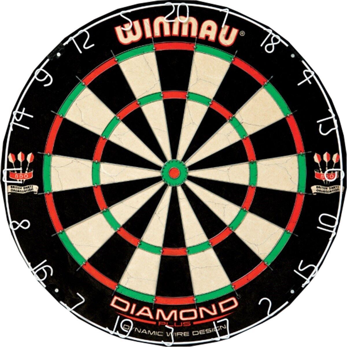 Winmau Diamond Plus Tournant Quality Full Storlek Dart Board