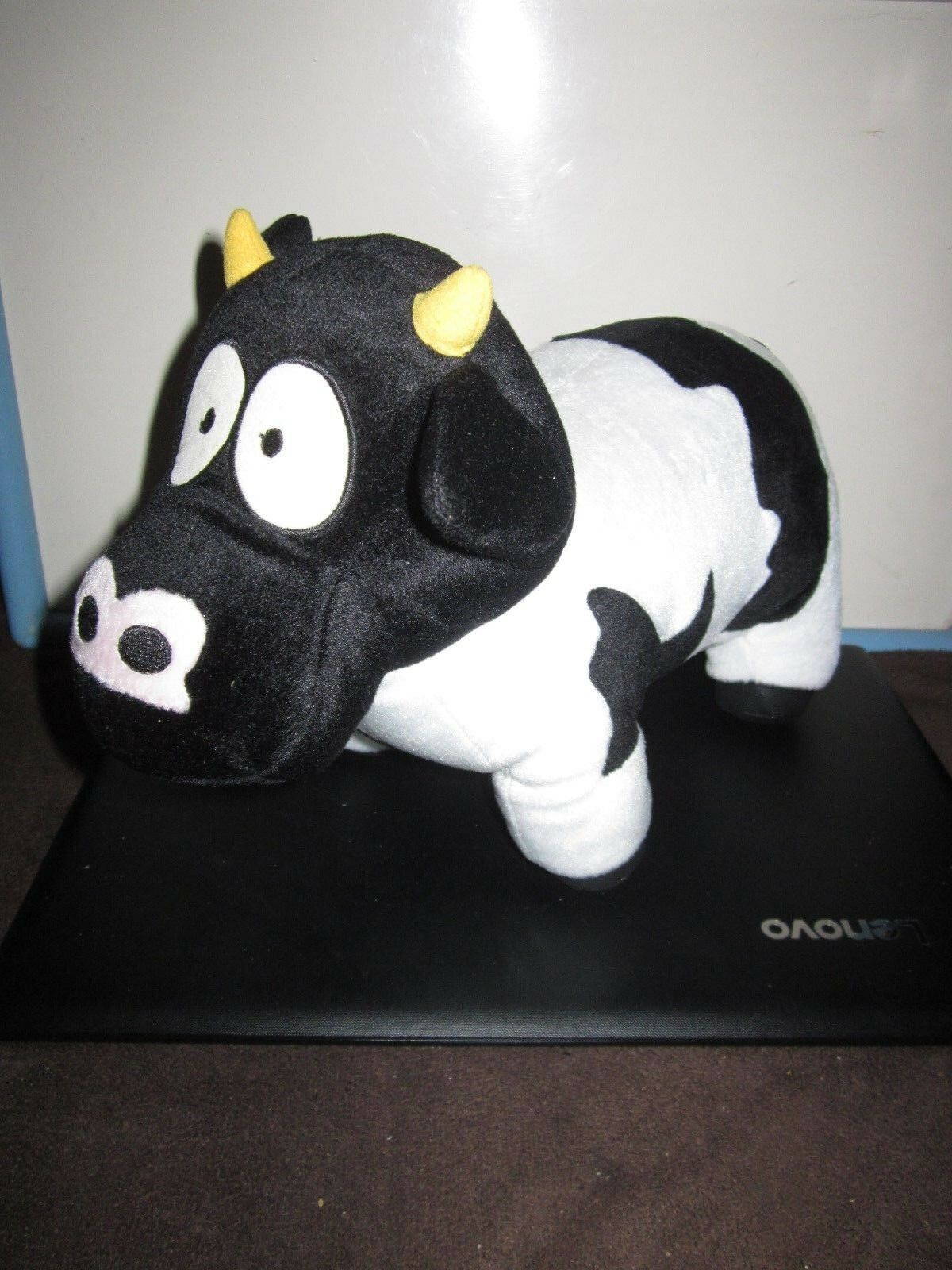 THE SOUTH PARK SHOW MASCOT COW  14   PLUSH TOY DOLL FIGURE BY FUN 4 ALL