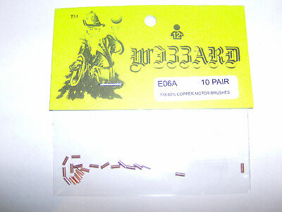 New Tyco 440 /& Wizzard Storm Motor Brushes Lot of 5 Pairs HO Slot Car Parts