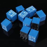 10 PCS High Quality 5 Pins RELAY 12V DC Coil Power Relay PCB   SRD-12VDC-SL-C