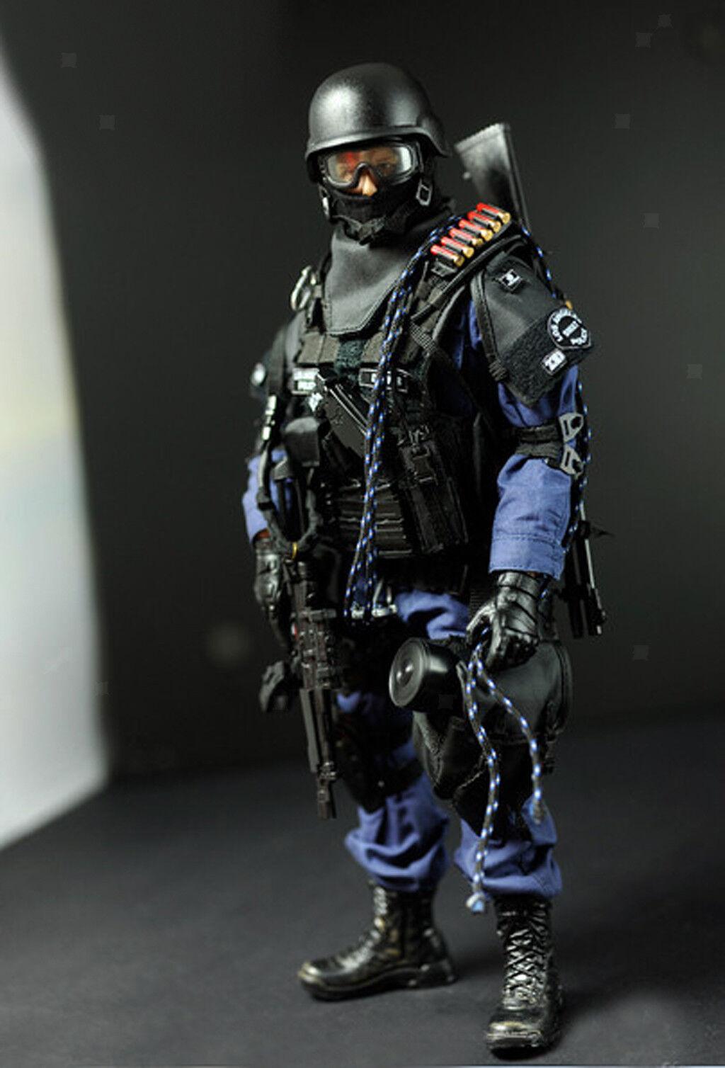 SWAT Soldato Speciale ha aggrossoito aggressore Action Figure W. un accesso SCALA 1/6