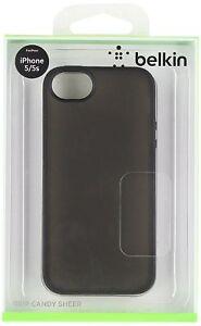 BELKIN-GRIP-CANDY-SHEER-BACK-SKIN-CASE-COVER-FOR-APPLE-IPHONE-5-5S-BLACK-UK
